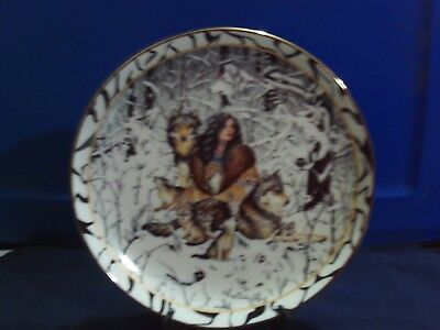 1996  Bradford Exchange # 005 D -Artist Signed - Native American Plate