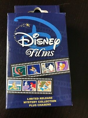 Disney Films Limited Release Mystery Box Pin Collection UNOPENED Box W/ 2 Pins