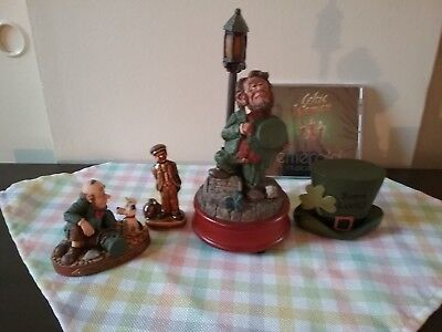 Danny Boy Finnians Figurine with additional 4 Item lot