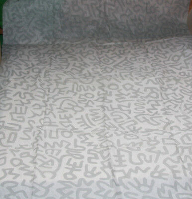 Vintage Keith Haring Pop Shop Tissue Paper (One Sheet) Authentic