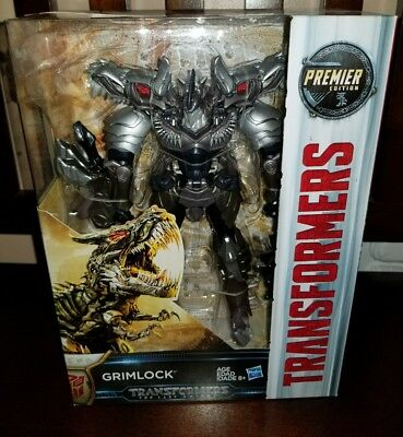 Transformers The Last Knight Premier Edition Voyager Class Grimlock!