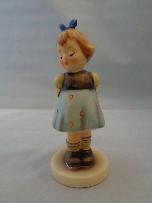 "4"" Hummel Figurine Two Hands, One Treat # 493 TMK 7 Excellent Condition"