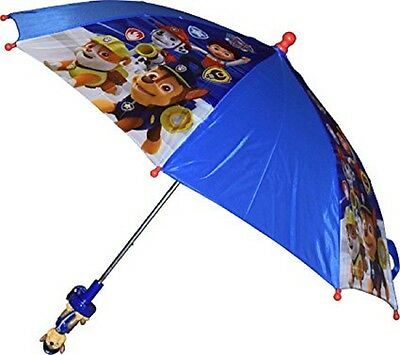 Kids Boy's Nickelodeon Paw Patrol Umbrella  with 3D Chase Figure Handle