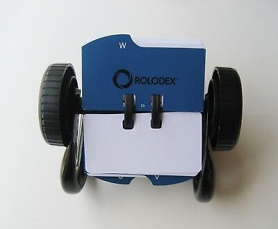 Rolodex Classic Mini Open Rotary Business Card File 250 Card