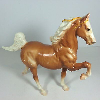"Breyer Molding Co. Vintage Glossy Palomino Horse 53 ""Commander"" The Five Gaiter"