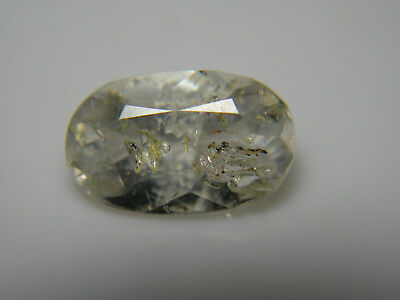 very rare Petroleum Quartz FACETED GEM Natural Pakistan FLUORESCENT gemstone pq5