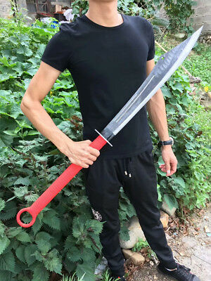 Hand/Forge Red Army Broadsword DaDao Sword Sharp High Manganese Steel Blade