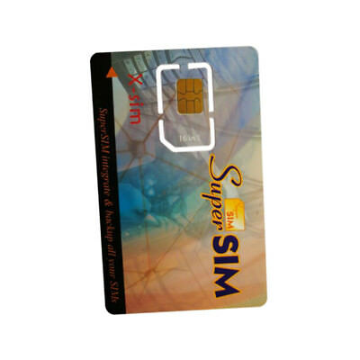 16 in 1 Max SIM Card Cell Phone Super Card Backup Cellphone Accessory