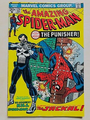 Amazing Spider-Man 129 Near Mint+ 9.6 White  Detailed High Resolution Images
