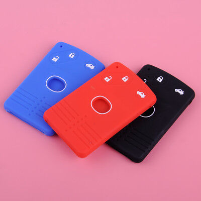 3 Button BTS Silicone Remote Smart Key Card Case Cover for Mazda CX-7 CX-9