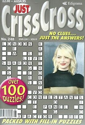 3  Criss Cross Magazines Most With 100+Puzzles With Answers Set (61) Freep/p
