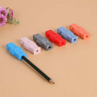 Robot Pencil Topper Pencil Cap Silicone Chewable Baby Kids Teether Teething Toy