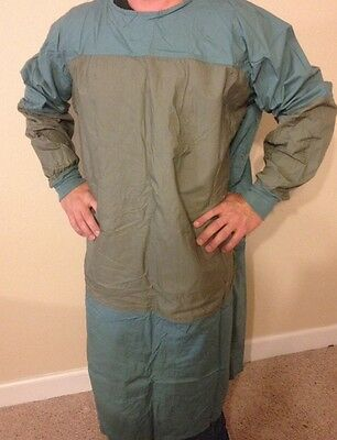 NEW DOWLING TEXTILE MFG. Co. Surgical Operating Gown XL Extra Large 100% Cotton