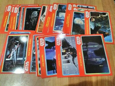 37 topps star wars  the force awakens cards