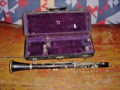 Vintage Buffet Holton Auguste  Clarinet For Restoration Or Parts