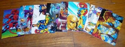 1991 Comic Images X-Men Complete 90 Card Set With Check List Card