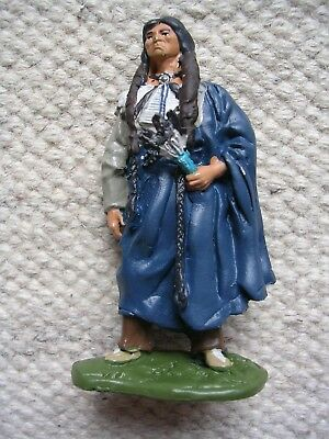 Western Indianer Quanah Parker - Hobby Work - Metall