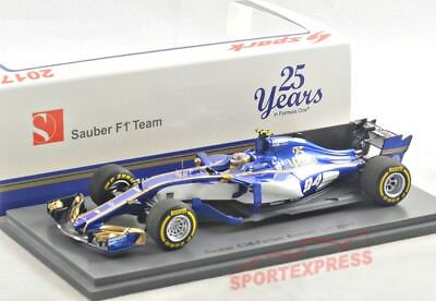 NEW 1/43 SPARK S5033 Sauber F1 C36, Chinese GP 2017, Pascal Wehrlein #94