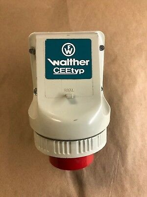 Walther Male Receptacle Ceetyp Type 618  16A 6H 400V - Used