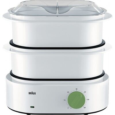 Braun Domestic Home FS 3000 TributeCollection Weiss Dampfgarer