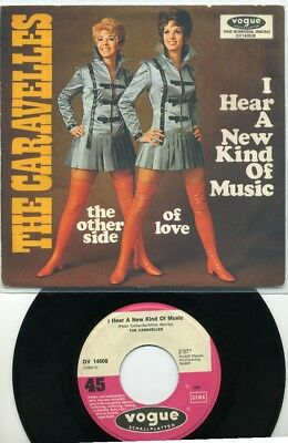 """""""7 -  The  CARAVELLES  -  I hear a new kind of music -  Deutsche Voque"""