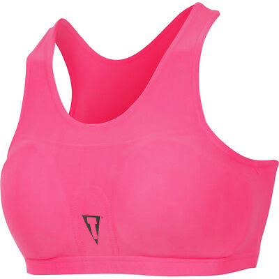 Title Boxing Advanced Chest Guard and Compress Sports Bra with Inserts - Pink