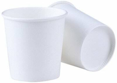 Bathroom Cup 500 Pack 4 OZ Espresso Cups Luckypack Sampling Paper Coffee Cups Fo