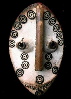 Outstanding   Tribal Lega Bwami Society   Mask      ---- Congo  BN 1