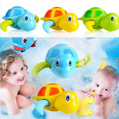 Magic Cute Lovely Swimming Turtle Pool Animal Up Bath Toys Random Color