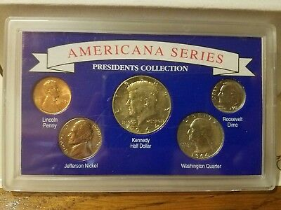 American Series Presidents Collection (5 coin set) *90% silver*