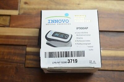 INNOVO Fingertip Pulse Oximeter iP900AP with Plethysmograph and Perfusion Index