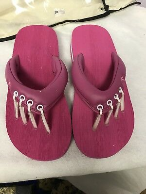 437e5055858789 NWT Beech Yoga And Pedicure Sandals - PINK - sizes Sml   Lrg available