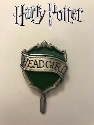 Hogwarts Headgirl Pin, Slytherin House, Universal, Wizarding World, Harry Potter