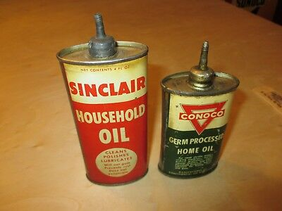 4 oz. Oil Can, Handy Oil Can, Sinclair, Conoco, Gas Pump, Oil Can, Gas Globe