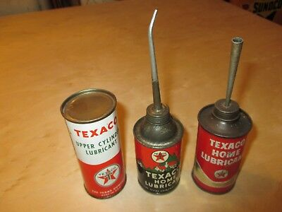 4 oz  Oil Can, Handy Oil Can, Texaco, Texaco Can, Gas Pump, Oil Can, Gas Globe