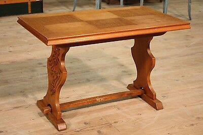 Small table rustic table living room wood oak furniture dutch antique style 900