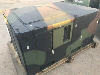 New Military Heater and portable 5 Ton  AC M939 spot cooler Hvac Tech