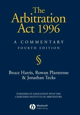 The Arbitration Act 1996: A Commentary by Harris, Bruce Paperback Book The Cheap
