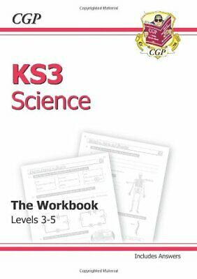 KS3 Science Workbook (including Answers) - Levels 3-5:... by CGP Books Paperback