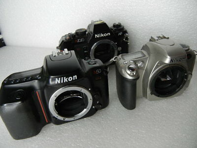 Lot Of 3 Cameras Nikon N55 N50 N2020 35Mm Parts Or Repair #9