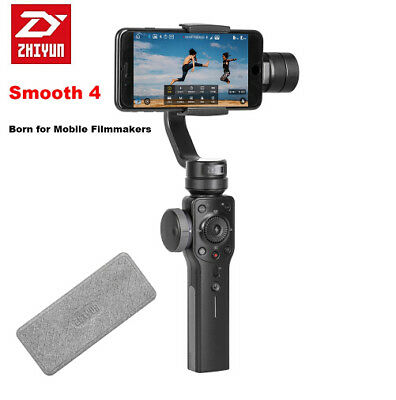 Zhiyun Smooth 4 3-Axis Handheld Gimbal Stabilizer w/Focus Pull Zoom F Smartphone
