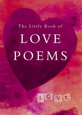 The Little Book of Love Poems by NA Paperback Book The Cheap Fast Free Post