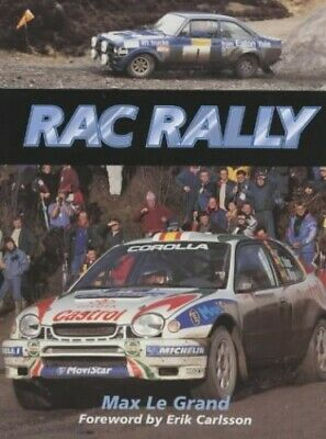 The RAC Rally by Grand, Max Le Hardback Book The Cheap Fast Free Post