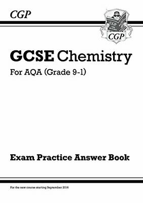 New GCSE Chemistry: AQA Answers (for Exam Practice Workbook) (CG... by CGP Books
