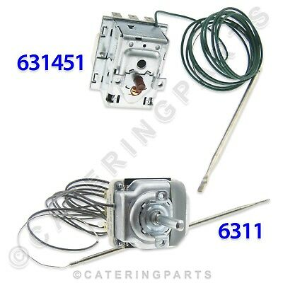 Valentine 631451 + 6311 295°C High Limit And 206°C Control Thermostats Fryer