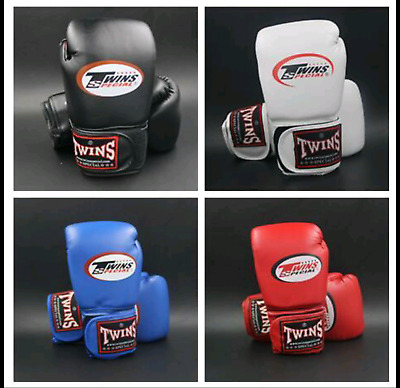 Twins Boxing Gloves New kick Boxing Gloves PU Leather Half Mitts Muay Thai