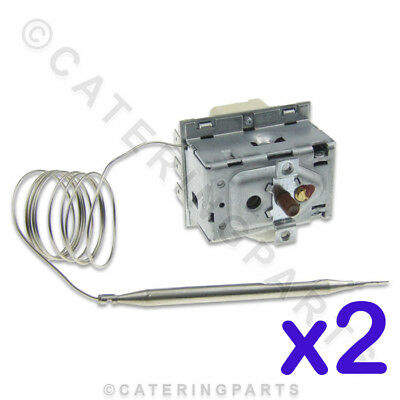 2 X Lincat Th61 High Limit Safety Cut Out Thermostats Ego 55.33543.020 Cpuk Ts41