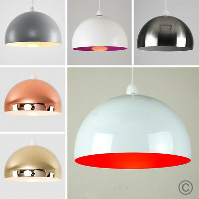 MiniSun Large 30cm Retro Domed Ceiling Pendant Light Shade Kitchen Lighting Lamp