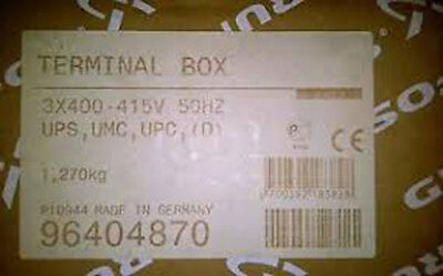 Grundfos UPS(D), UMC(D), UPC(D) 415V Terminal Box - new in box. Part no 96404870