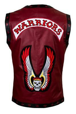 The Warriors Movie Leather Vest Jacket For Riders Halloween Costume